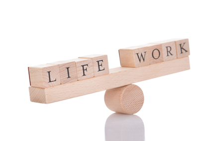 Seesaw Representing Imbalance Between Life And Work